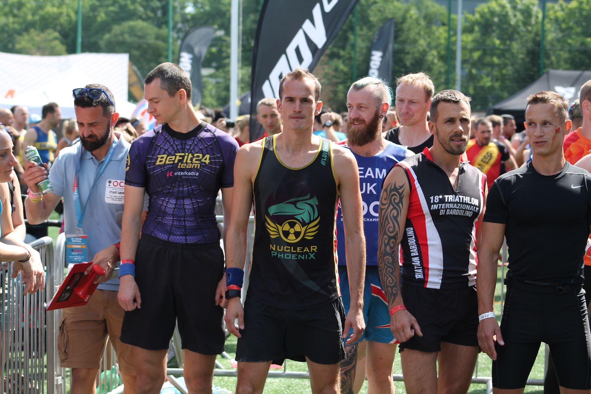 OCR European Championships AG35-39 start